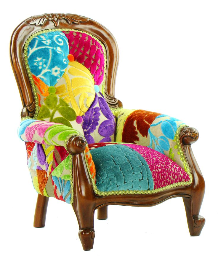 Best 25 patchwork chair ideas on pinterest awesome for Funky armchairs