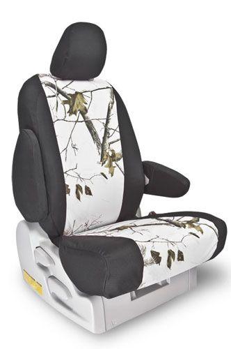 My custom seat covers for my white Toyota FJ.  Love them!