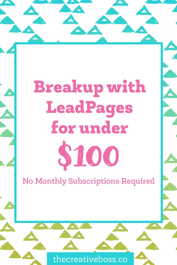 Want LeadPages but don't want to shell out $400+ a year? There is a solution that will only cost you a quarter of that!