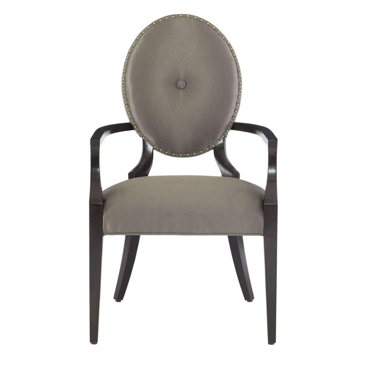 Candace Oval Back Arm Chair