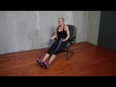 CLX Seated Calf Press #ExerciseEverywhere - Performance Health Academy