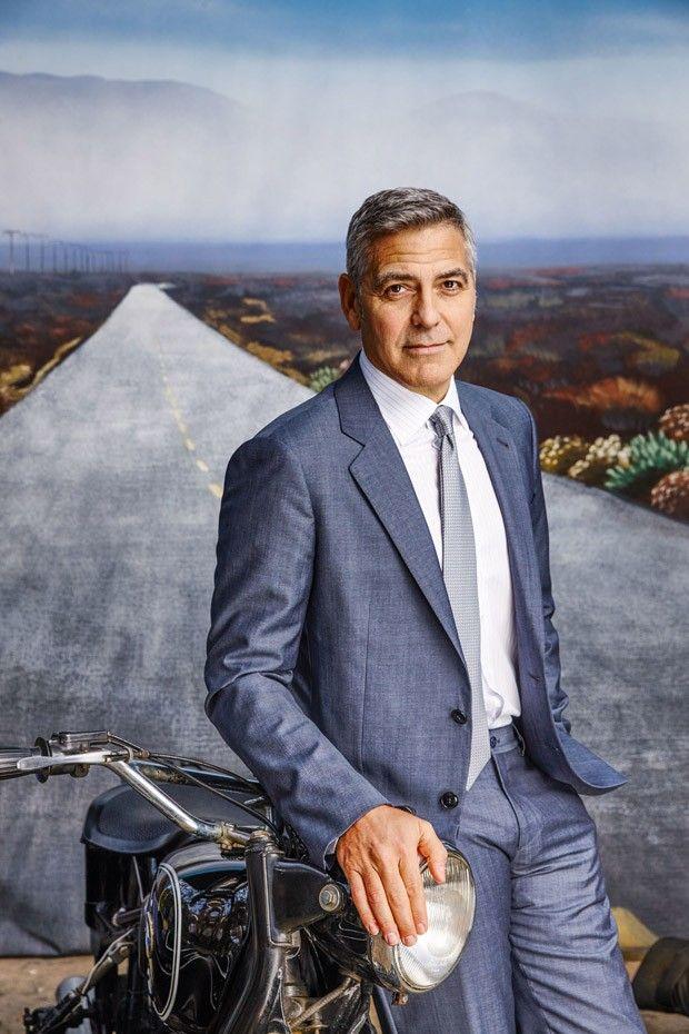 Джордж Клуни в Esquire Magazine (Интернет-журнал ETODAY)