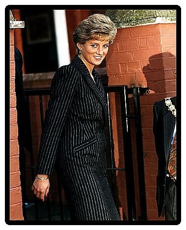 Princess Diana Royalty Opened St Christophers Fellowship at Howard House January 1991