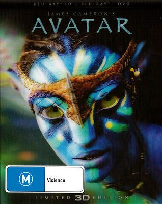 #Avatar (3d #blu-ray/blu-ray/dvd) #(limited edition)  - blu-ray - new region b,  View more on the LINK: http://www.zeppy.io/product/gb/2/261709306830/