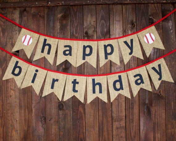 Decoraciones fiesta de feliz cumpleaños por MsRogersNeighborhood