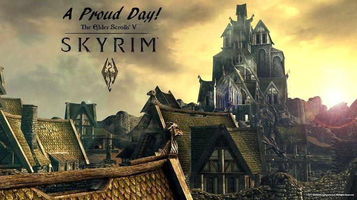 A Memorable Day (Skyrim Gameplay) #games #Skyrim #elderscrolls #BE3 #gaming #videogames #Concours #NGC