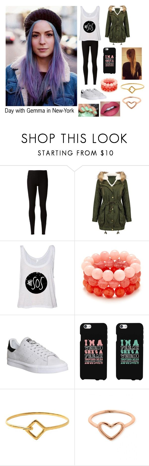 """Day With Gemma In New-York"" by hazzgirl03 ❤ liked on Polyvore featuring beauty, Rick Owens Lilies, adidas, Samsung, Toast, ChloBo, claire's, OneDirection, harrystyles and gemmastyles"