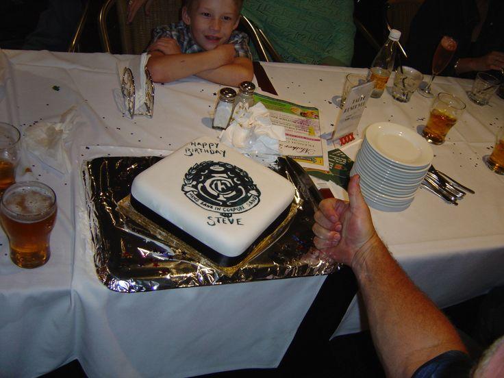 Carlton Football Club Cake