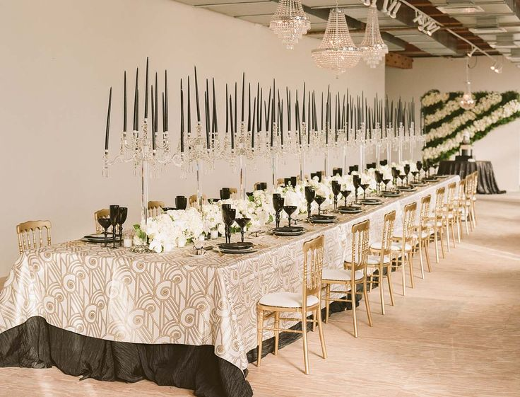 Amazing styled Glam Art Deco rehearsal dinner by @BlueGardeniaLLC  New Orleans and Worldwide Photographers www.artedevie.com Arte De Vie
