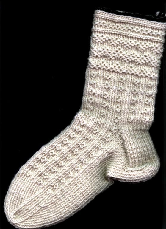 #Knitting #Technique - Twined socks. Twined Knitting produces very firm and warm fabric. Discussion and tutorials at Craftsy.