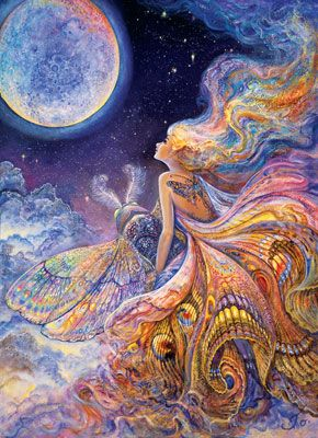 Josephine Wall: Fly Me to the Moon - 1000pc Jigsaw Puzzle in Tin by Masterpieces