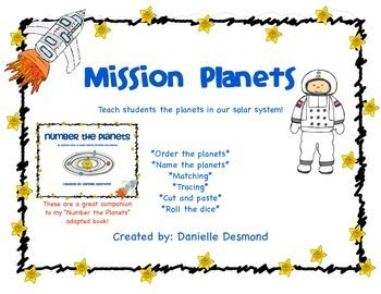 Learn the Planets worksheets for Special Education ...