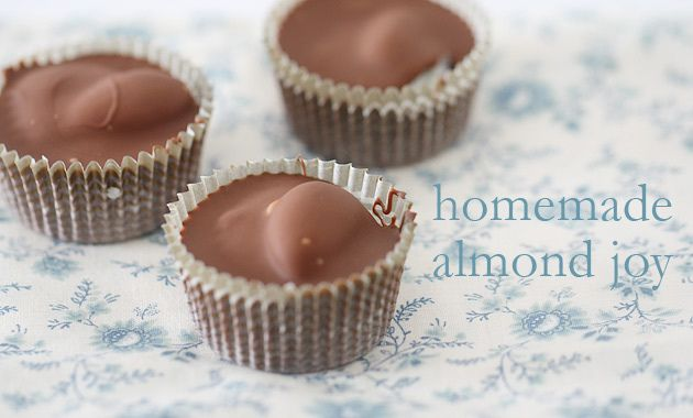 OMG homemade almond joys....i must try these!