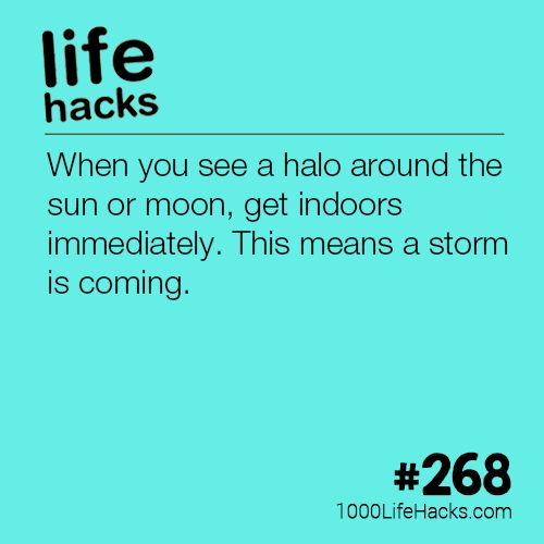The post What A Halo Around The Moon Means appeared first on 1000 Life Hacks. #LifeHack