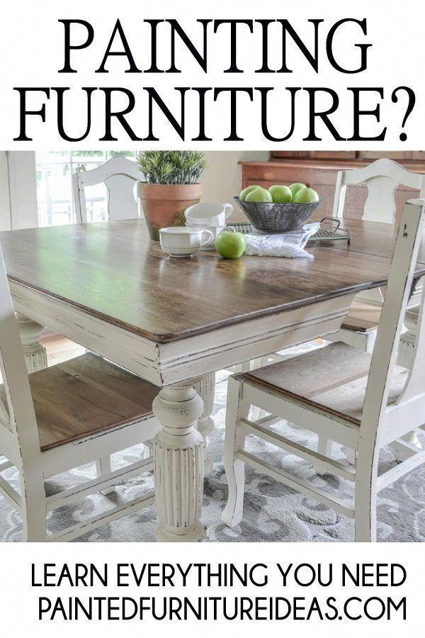 Antique Interior Design Painted Dining Room Table Diy Farmhouse