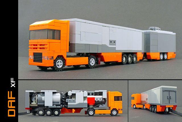 Amazing LEGO micro PF truck