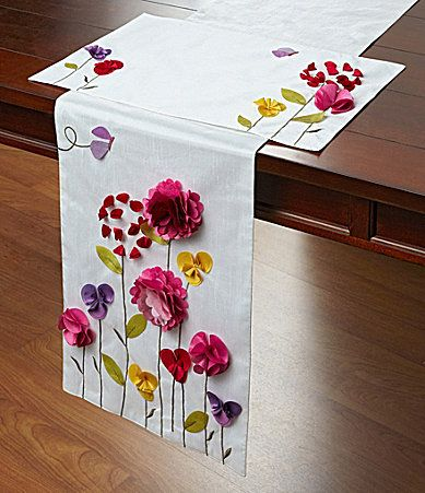 Elrene Garden View Table Linen Collection #Dillards