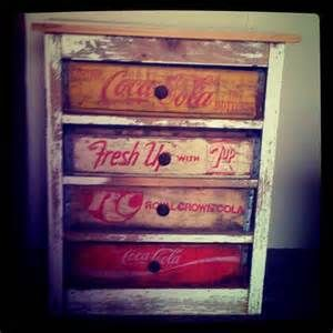 Old Soda Crates As Drawers Re Scape Furniture Mixed