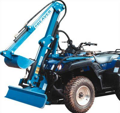 Beaver Pro Excavator, atv accessories