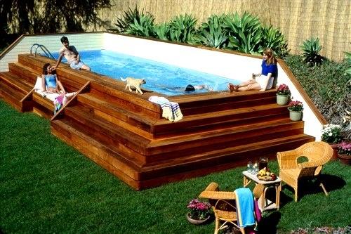 Nice way to do an above ground pool home design decor - Nice above ground pools ...