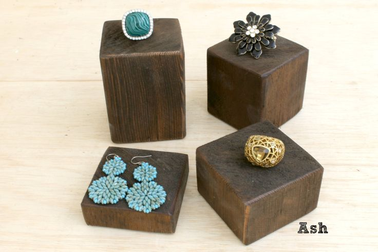 Jewelry Display Blocks, Ring Displays, Jewelry Risers, Booth Displays, Ring Holder Ring Organizer, Choose the Color