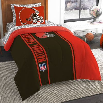 Northwest Co. NFL Browns Comforter Set Size: Twin