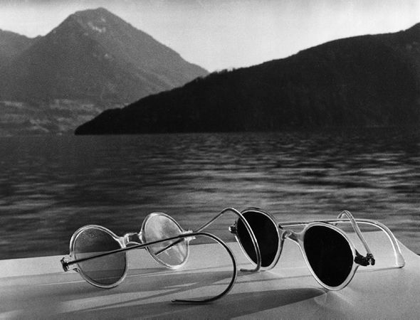 Herbert List Sunglasses, Lake Lucerne, 1936