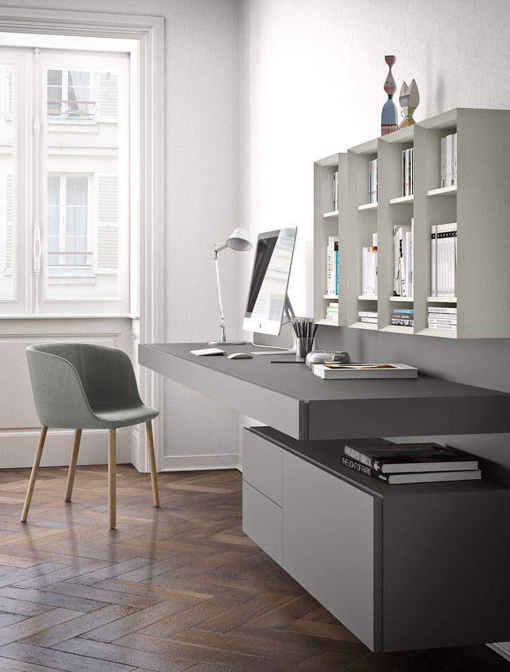 14 migliori immagini scrittoi desks pianca su for Scrivanie casa design