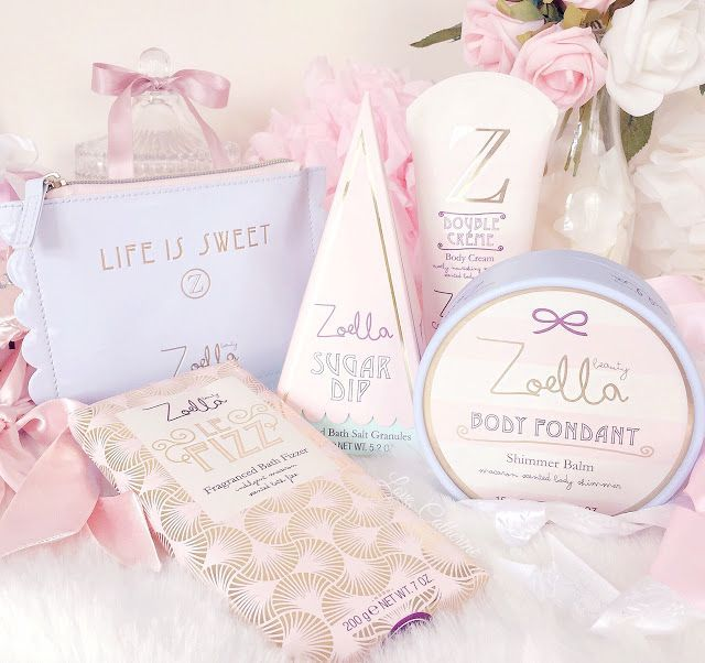 I definitely wasn't the only one who went totally heart eyed when YouTube Queen Zoella showed the first few glimpses of her new Sweet Inspirations beauty range. The soft pink and baby blue, French pat