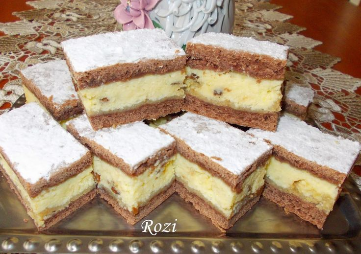 Rozi Erdélyi konyhája: Ordás sütemény