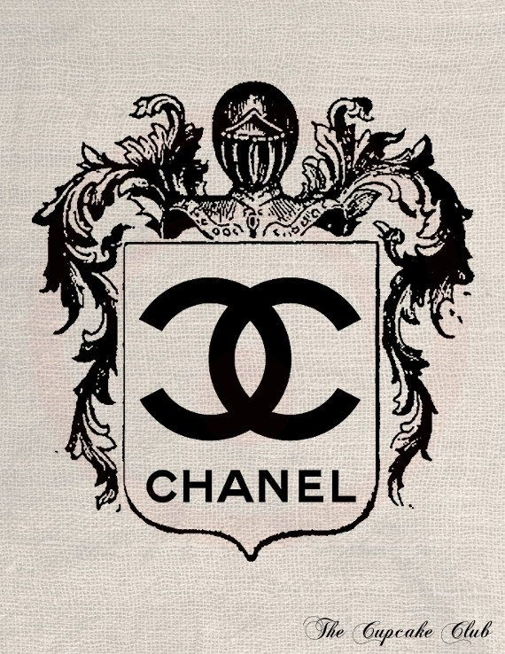 ... Chanel Logo on Pinterest : Chanel art, Chanel stickers and Chanel no 5