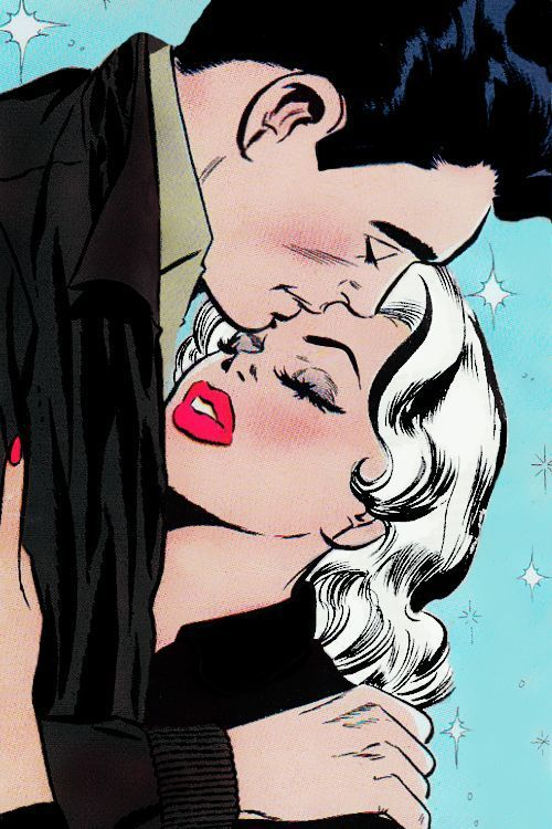 love, couple, and pop art image