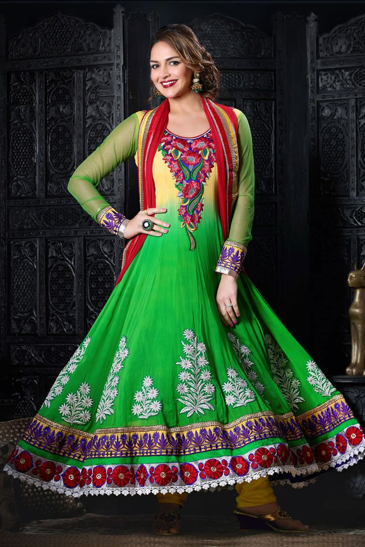 Bollywood style esha deol party wear salwar kameez redhot