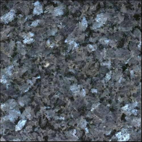 Blue Pearl Granite Countertop - placement: over white/gray/or pale blue painted cabinets