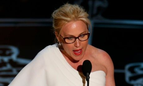 Patricia Arquette uses Oscars speech to call for equal pay for women  (The Guardian 23 February 2015)