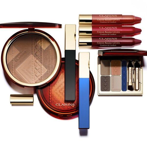 Wat een mooie look! Ben er helemaal weg van. Warme kleuren, die toch helemaal bij de zomer horen. Daar word ik vrolijk van... http://www.belissima.nl/index.php/clarins-webshop/make-up/seizoenslook/ombre-minerale-1053.html #clarins #makeup #yeux #eyes #levre #eyeshadow #pouder