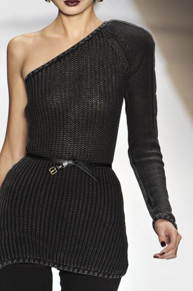 love the one shoulder - Charlotte Ronson Fall 2009