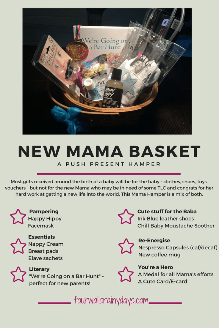 For the new mother in your life - a perfect gift idea for a new baby and the mom to be! A basket full of goodies. Perfect Present!  (scheduled via http://www.tailwindapp.com?utm_source=pinterest&utm_medium=twpin&utm_content=post84978903&utm_campaign=scheduler_attribution)