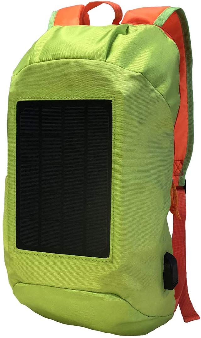 Smart Solar Backpack 2019 Version Now You Can Charge By Solar Power Unique Solar Bag With The Most Efficient Sol Solar Backpack Unique Backpacks Backpacks