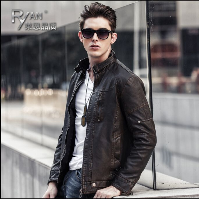 Like and Share if you want this  HOT 2015 NEW Autumn and winter men clothing brand casual pu leather Slim PU leather jackets tide thicken motorcycle coat costume     Tag a friend who would love this!     FREE Shipping Worldwide     Get it here ---> http://onlineshopping.fashiongarments.biz/products/hot-2015-new-autumn-and-winter-men-clothing-brand-casual-pu-leather-slim-pu-leather-jackets-tide-thicken-motorcycle-coat-costume/