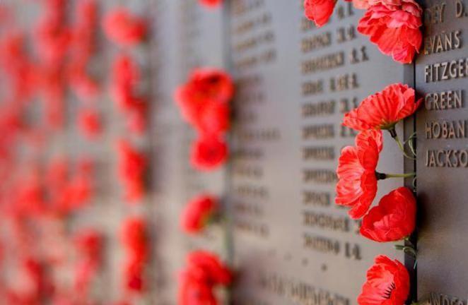 2014 ANZAC Day Dawn Service - Shrine of Remembrance Melbourne - Melbourne.