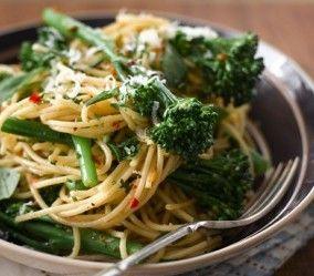 Aldo Zilli's Spaghetti with Tenderstem® Broccoli, Garlic and Chilli