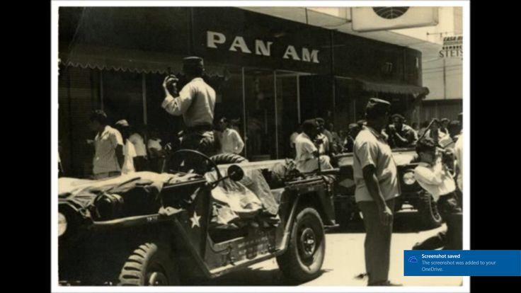 rebels with captured american jeep at Ciudad Nueva