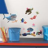 Found it at Wayfair - Finding Nemo Wall Decal Set. This would actually be cute for my bathroom