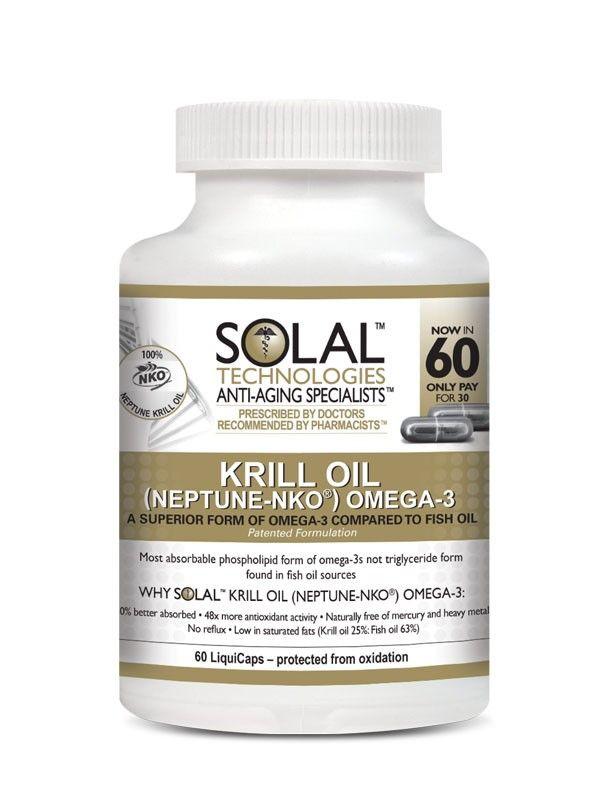 Solal Krill Oil - Omega 3