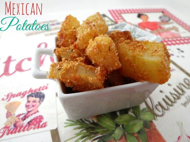 Patate messicane - Mexican potatoes - ricetta Tex Mex
