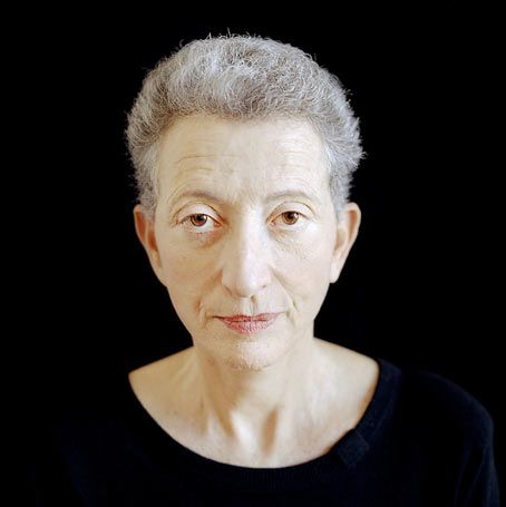 Helene Cixous, eminent French-Algerian-Jewish-German philosopher and writer, born 1937, here photographed in 2004, shot by Olivier Roller