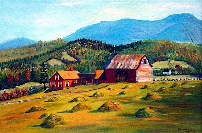 milestone farm by kenneth andler