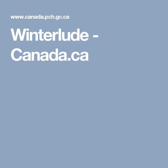 Winterlude - Canada.ca