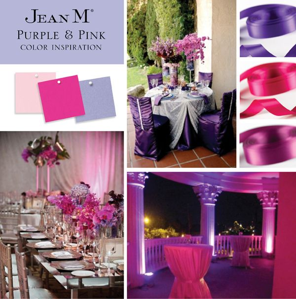 Wedding Purple And Pink